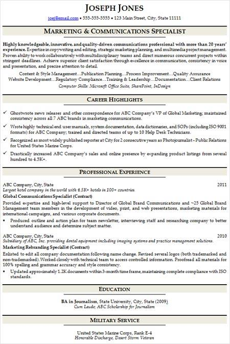 resume writing strategies resume formats ihire