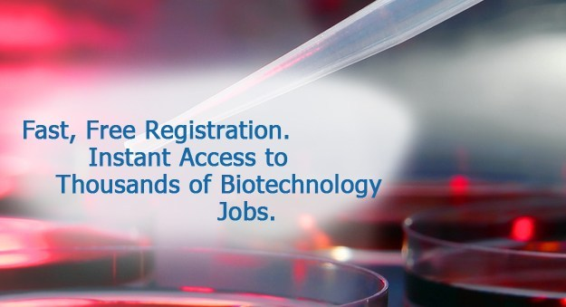 Search jobs for biotechnology professionals