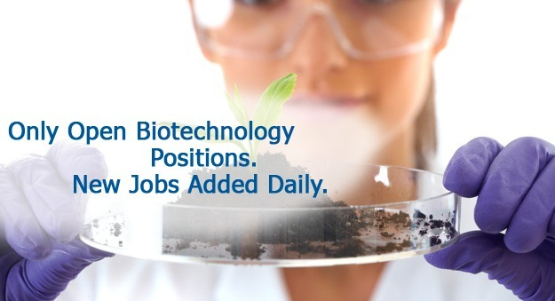 Search careers in biotechnology