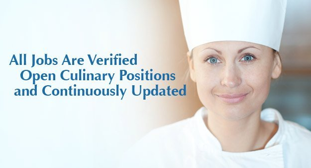 Chef jobs, career as a chef