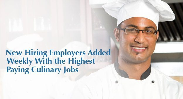 Find a job as a chef, culinary arts