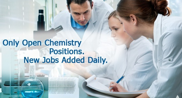 Search careers in chemistry