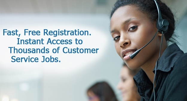 Search jobs in customer service