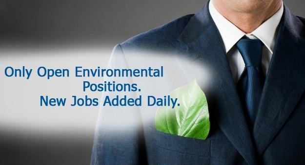 Find careers in environmental science