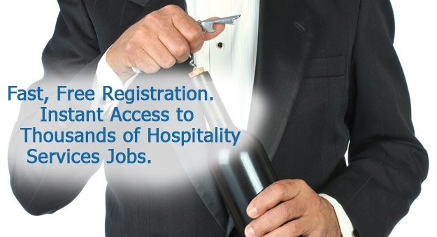 Find work in hospitality