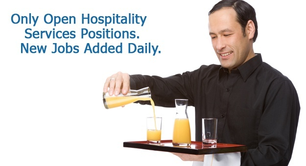 Find a job in restaurant work