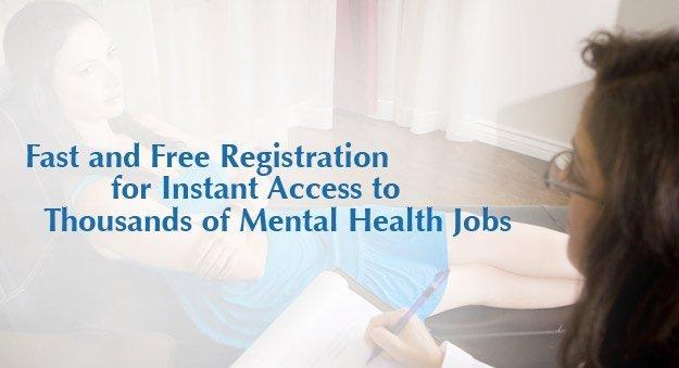Careers in social work, mental health services