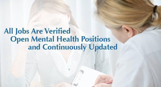 Psychiatrist, psychologist, counseling jobs