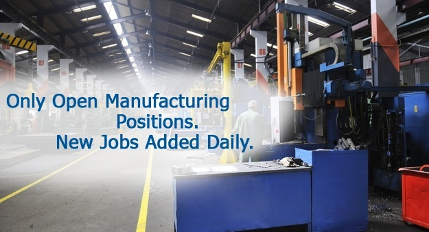 Find careers in manufacturing