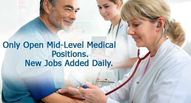 Jobs for physician assistants, nurse practitioners