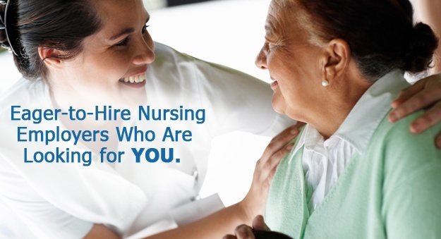 Find nursing jobs listed online