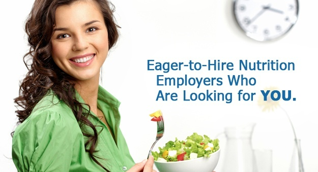 Hiring nutritionists, dieticians