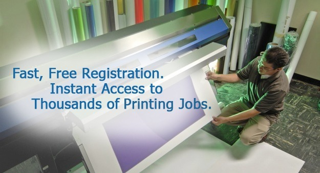 Search all printing jobs, employment