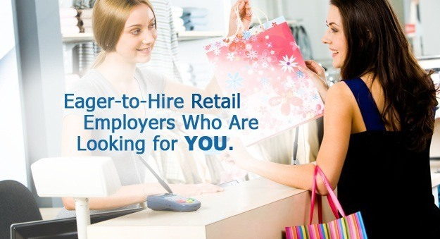 Fashion jobs, hiring retail sales