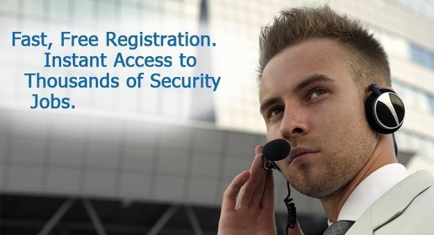 Security jobs, hiring security guards