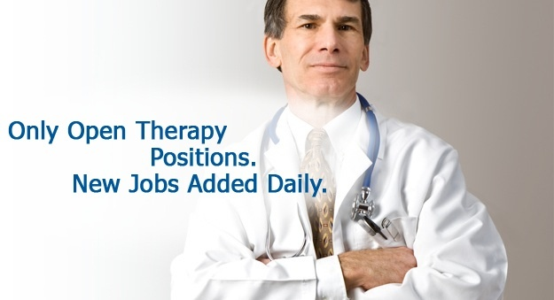 Physical, occupational and massage therapy jobs