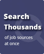 Search Thousands of job sources at once