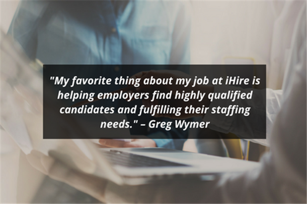 ihire account manager greg wymer quote