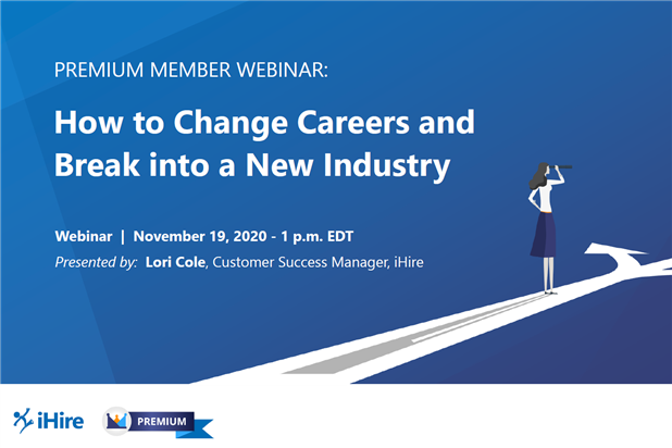 career change webinar