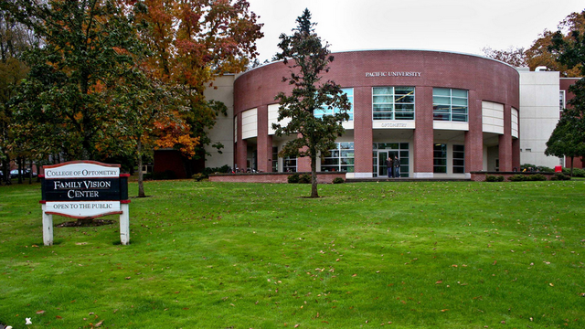 pacific university college of optometry