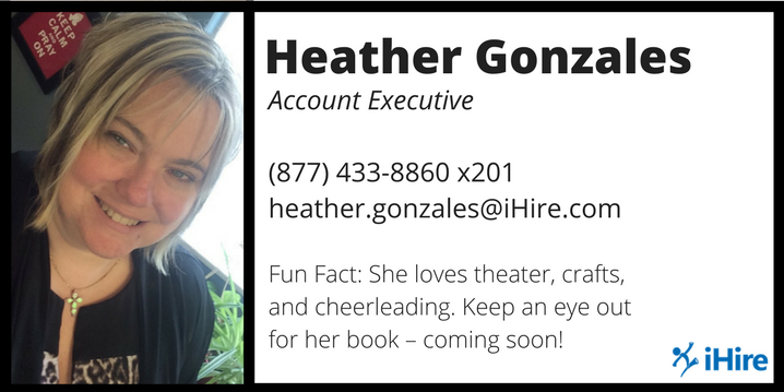 heather gonzales ihire account manager