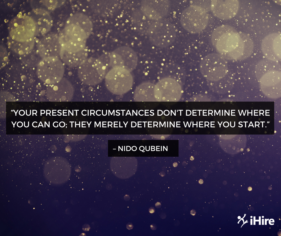 image of inspirational quote from nido qubein