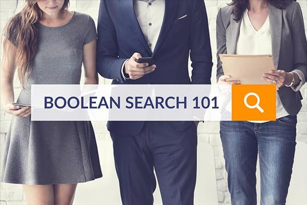 Boolean search 101 against backdrop of professionals