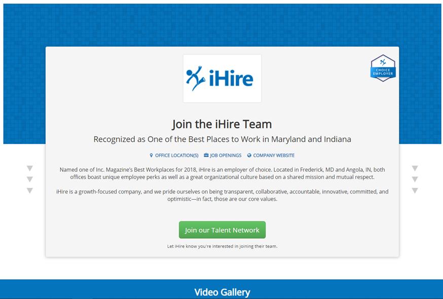 iHire Company Profile