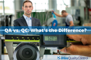 Quality assurance vs. quality control: what's the difference?