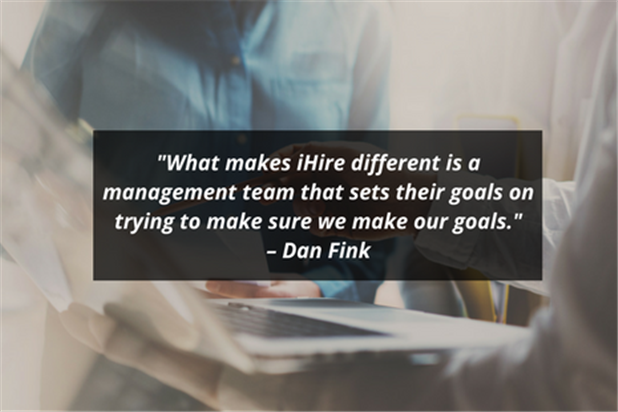 dan fink ihire account manager