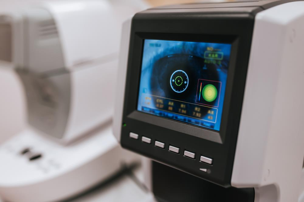 state-of-the-art diagnostic equipment used for optometric and ophthalmic testing
