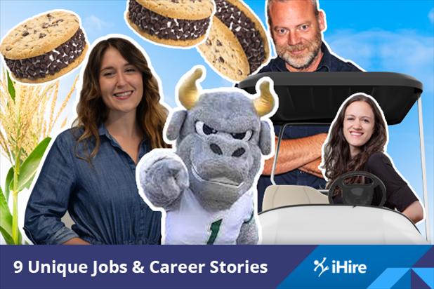 unique jobs from iHire associates