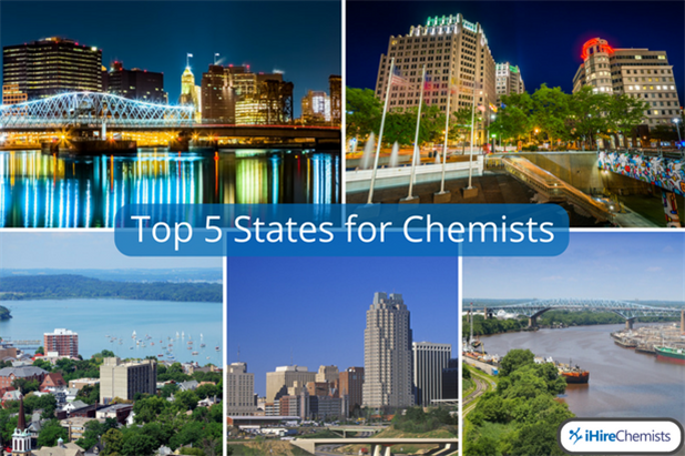 Best States For Chemistry Jobs  Chemistry Career  Ihirechemists  Best States For Chemistry Jobs