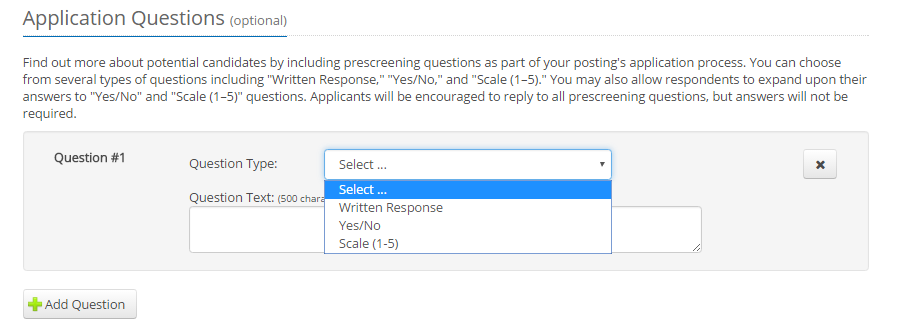 ihire application questionnaire 1