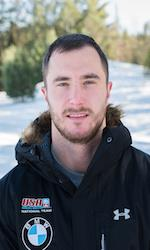 US Olympic bobsled crewman Sam McGuffie
