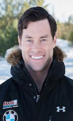 US Olympic bobsled crewman Steve Langton