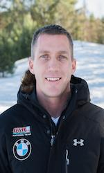 US Olympic bobsled crewman Chris Fogt