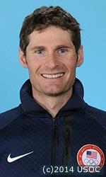 US Olympic nordic combined skier Bryan Fletcher
