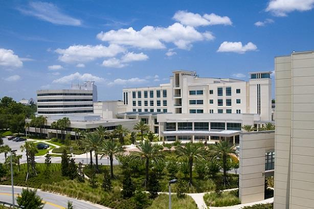 Newly constructed modern healthcare facility