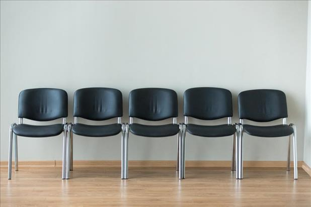 Empty interview chairs