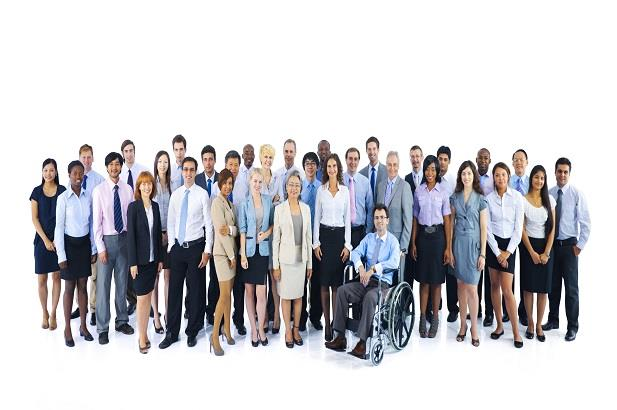 Picture of diverse group of professionals