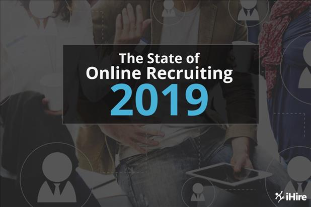 state of online recruiting report cover