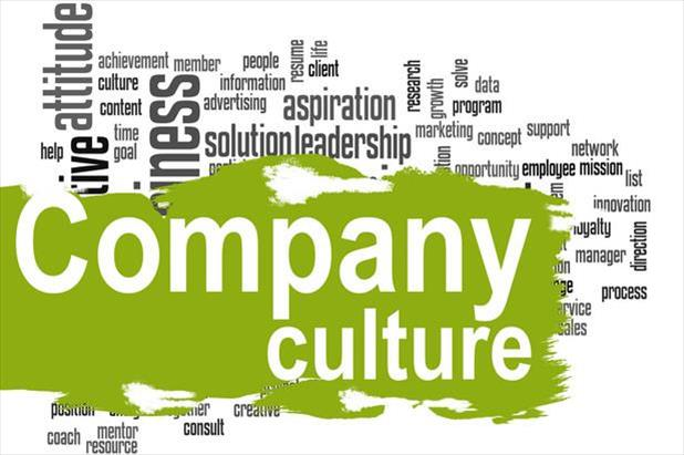 Word cloud showing the importance of culture-based recruiting