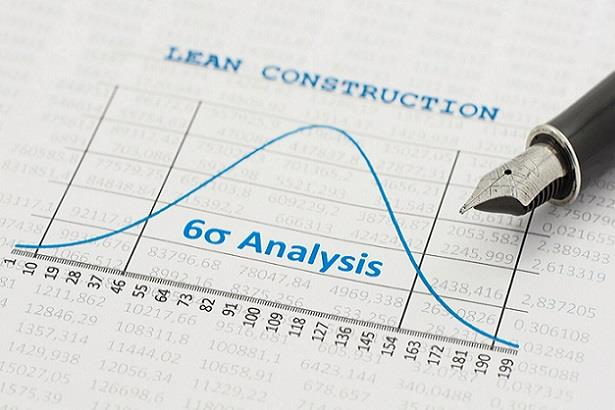 Lean construction and Six Sigma analysis