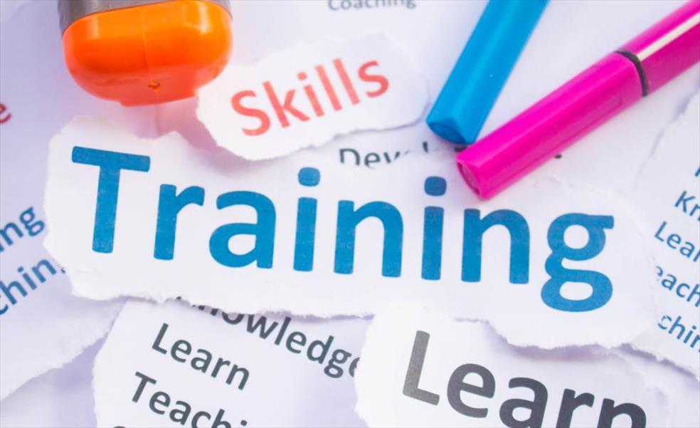 Training word cloud