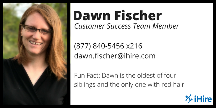 dawn fischer business card graphic