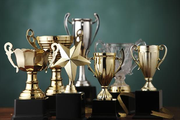 Picture of trophies demonstrating iHire as an employer of choice