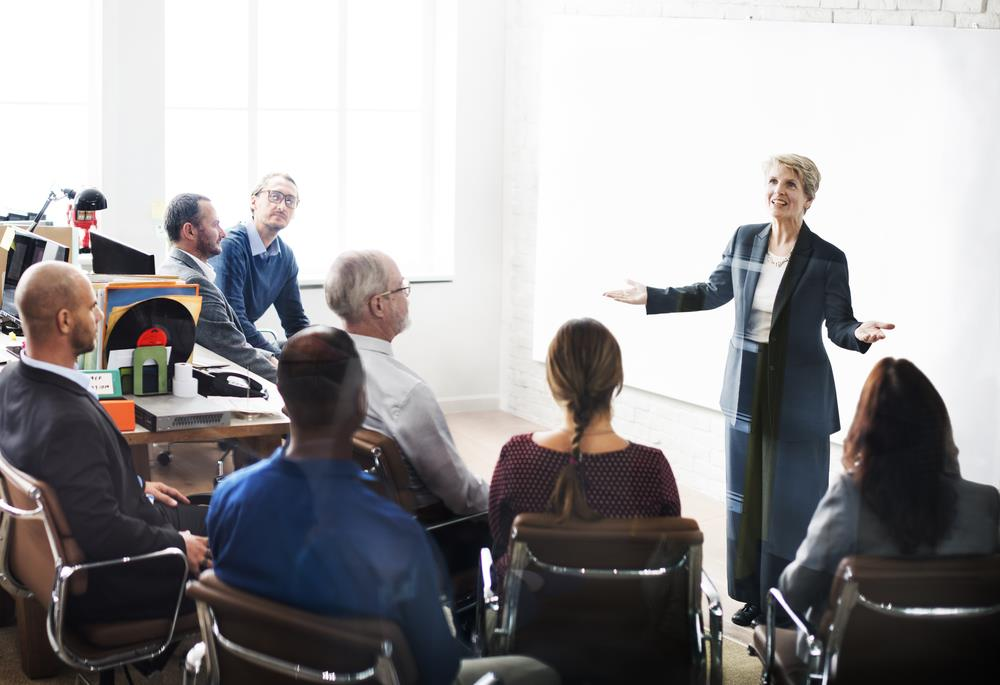 HR leaders must be comfortable delivering presentations