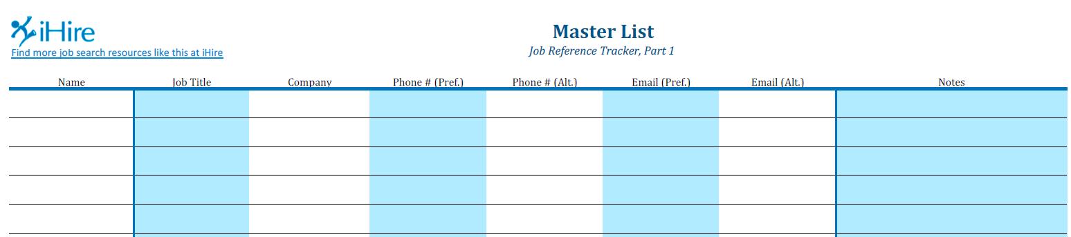 job search tracker