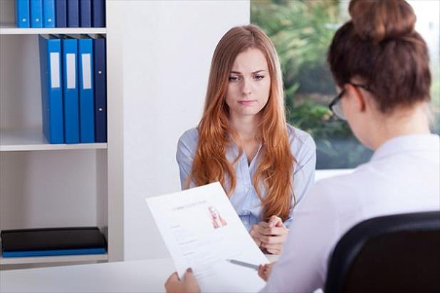 Job seeker nervous about discussing why she was fired from a previous position